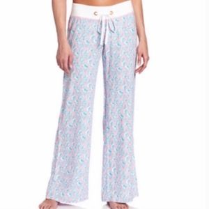 Lilly Pulitzer Beach A Little Tipsy Pants XL